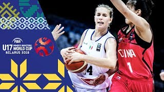 Download LIVE 🔴- Italy v China - FIBA U17 Women's Basketball World Cup 2018 Video