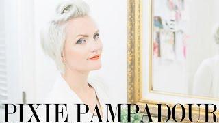 Download Pompadour Hair Tutorial for Pixies Video