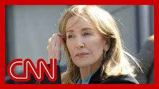Download Felicity Huffman sentenced in college admissions scandal Video