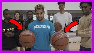 Download SUPER HEAVY BASKETBALL KNOCKOUT CHALLENGE #2HYPE FT. NBA STAR DE'AARON FOX Video