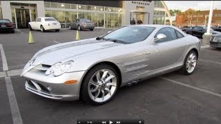Download 2006 Mercedes-Benz SLR McLaren Start Up, Exhaust, and In Depth Review Video