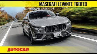 Download Maserati Levante Trofeo V8 | First Drive Review | Autocar India Video