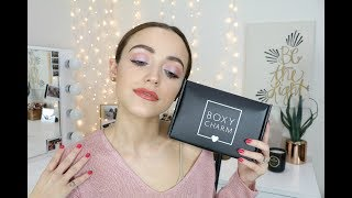 Download February Boxycharm Unboxing (Try-on Style)   2018 Video