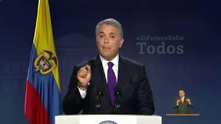 Download Alocución Presidente Duque, sobre resultados de la votación Consulta Popular Anticorrupción Video