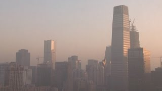 Download Time lapse video shows Beijing smog lifting Video