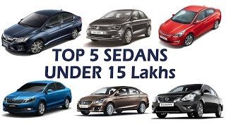 Download Top 5 Sedan Cars 2017 Under 15 Lakhs in India | Price, Mileage, Performance, Specifications Video