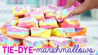 Download How to Make TIE DYE Marshmallows (+ BIG ANNOUNCEMENT)! Video