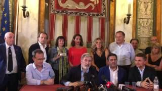 Download Conferenza stampa nuovo sindaco di Genova, Marco Bucci Video
