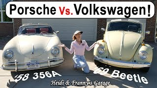 Download Porsche 356 Vs. VW Beetle! How are the different? (With Driving!) Video