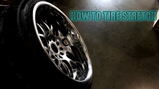 Download Stretching Tires 235/40R18 on 18x10.5 JDM Hella Flush Stanced Video