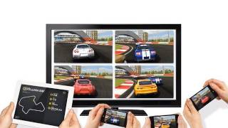 Download iOS5 Wireless Airplay Gaming: Real Racing 2 HD How-To & Demo Video