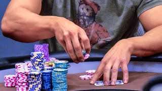 Download Garrett Adelstein CRUSHES WPT Champs Griffin Paul & Art Papazyan For $80,000 ♠ Live at the Bike! Video