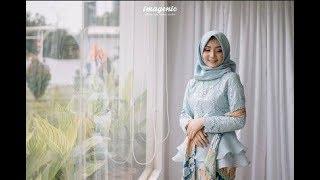 Gamis Brokat Kombinasi Terbaru Untuk Lebaran 2018 Gamis Kebaya
