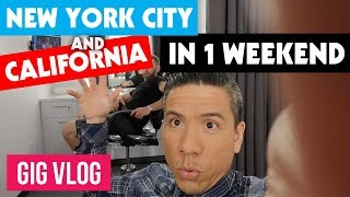 Download Gigging in NYC and CA in 1 Weekend! | Life On The Road | Touring Musician | Travel Vlog Video