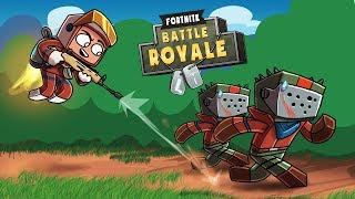 Minecraft Fortnite - BASE DEFENSE CHALLENGE! (Fortnite Battle Royale