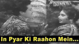 Download In Pyar Ki Raahon Mein - Love Song - Asha Bhosle, Mohammed Rafi @ Punar Milan Video
