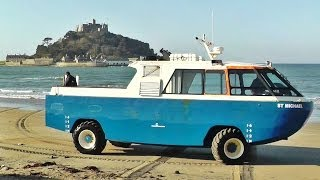 Download St Michael's Mount Cornwall Amphibious Vehicle - Car Craft Vehicles Video