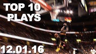 Download Top 10 NBA Plays: 12.01.16 Video
