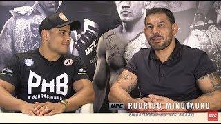 Download Corner: Rodrigo Minotauro entrevista Paulo ″Borrachinha″ Video