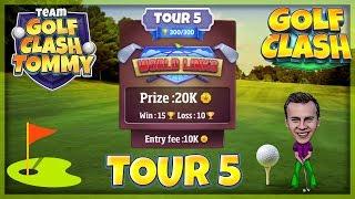 Download Golf Clash tips, Hole 5 - Par 3, Gokasho Bay - World Links, Tour 5 - GUIDE/TUTORIAL Video