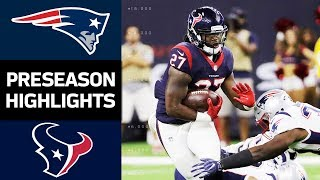 Download Patriots vs. Texans | NFL Preseason Week 2 Game Highlights Video