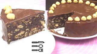 Download Torta alla Nutella Cacao e Biscotti Senza Uova né cottura in Forno Video