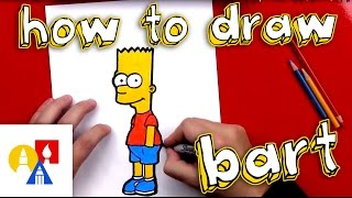 Download How To Draw Bart Simpson Video