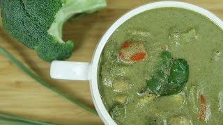 Download How To Make Thai Green Curry | Thai Green Curry Recipe | Thai Recipes Vegetarian | Ruchi's Kitchen Video