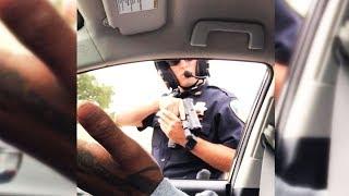 Download Cop Won't Stop Pointing Gun At Passenger (VIDEO) Video
