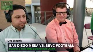 Download LIVE FOOTBALL! San Diego Mesa vs. SBVC (10-14-17) @ City of San Bernardino, CA. Video