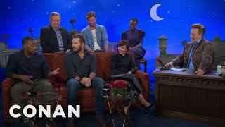 "Download The Men Of ″Avengers: Infinity War"" Compare Themselves To Different Meats - CONAN on TBS Video"