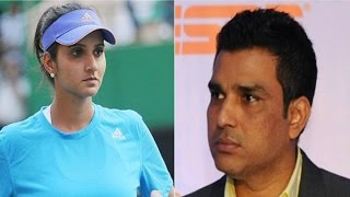 Download Sania Mirza Shuts Sanjay Manjrekar On Twitter, Accuses Him Of Not Having 'Common Sense' Video