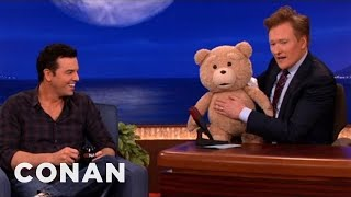 Download Seth MacFarlane's ″Ted″ R-Rated Teddy Bear Malfunctions - CONAN on TBS Video