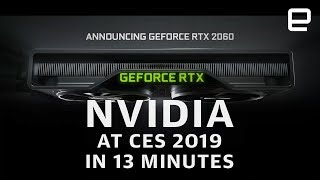Download NVIDIA at CES 2019 in 13 Minutes: More power for less Video