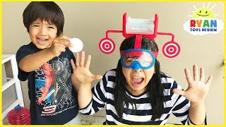 Download DUNK HAT CHALLENGE EXTREME! Gross and Messy Family Game Night! Video