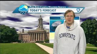 Download Friday Afternoon Forecast 12/9/16 Video