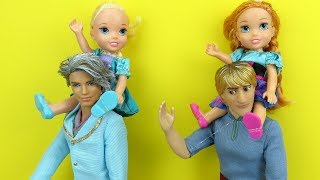 Download Father's Day ! Elsa and Anna toddlers - Gifts - Surprise Video