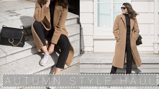 Download Autumn Capsule Wardrobe: Part 2: THE HAUL! | The Anna Edit Video