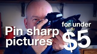 Download How to get TACK SHARP images for LESS than $5! Video
