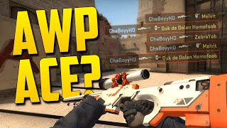 Download CRAZY AWP ACE?! - CS:GO Funny Moments in Competitive Video