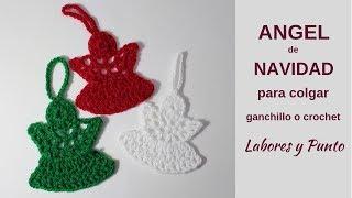 Download Como tejer un angel de lana a ganchillo o crochet- Muy Fácil!!!- Labores y Punto Video