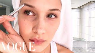 Download Bella Hadid's Jet-Lag Beauty Survival Guide | Beauty Secrets | Vogue Video