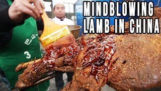 Download Eating A Whole Roast Lamb in China | Mongolian Food, Sichuan Style Video