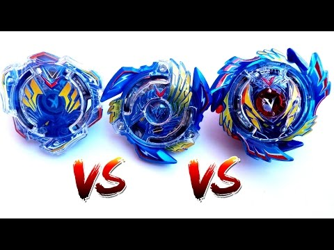 Beyblade Burst Evolution Battle: from Valkyrie to Victory Valkyrie to God Valkyrie