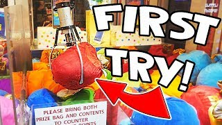 Download I WON A MYSTERY BAG FIRST TRY! || Lucky Leo's Arcade! Video