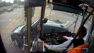 Download It's not easy to be a tram driver. Video