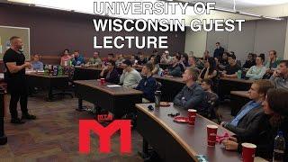 Download Entrepreneurship Lecture | Marc Lobliner, U of Wisconsin, Nov 3, 2016 Video