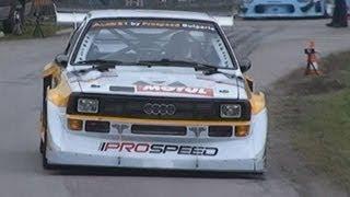 Download MONSTERS of Hillclimb - Bergmonster Audi S1 Lancia S4 Porsche 935 Mitsubishi EVO BMW Mercedes Video