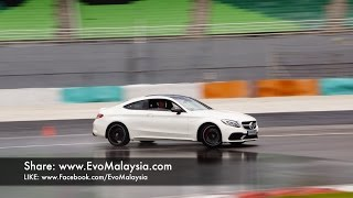Download Evo Malaysia com | 2017 Mercedes AMG C63s Coupe Drive and Drift at Sepang Video