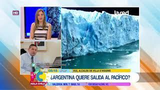 Download Edil de Villa 0'Higgins habló sobre inventario argentino que agrega glaciares chilenos Video